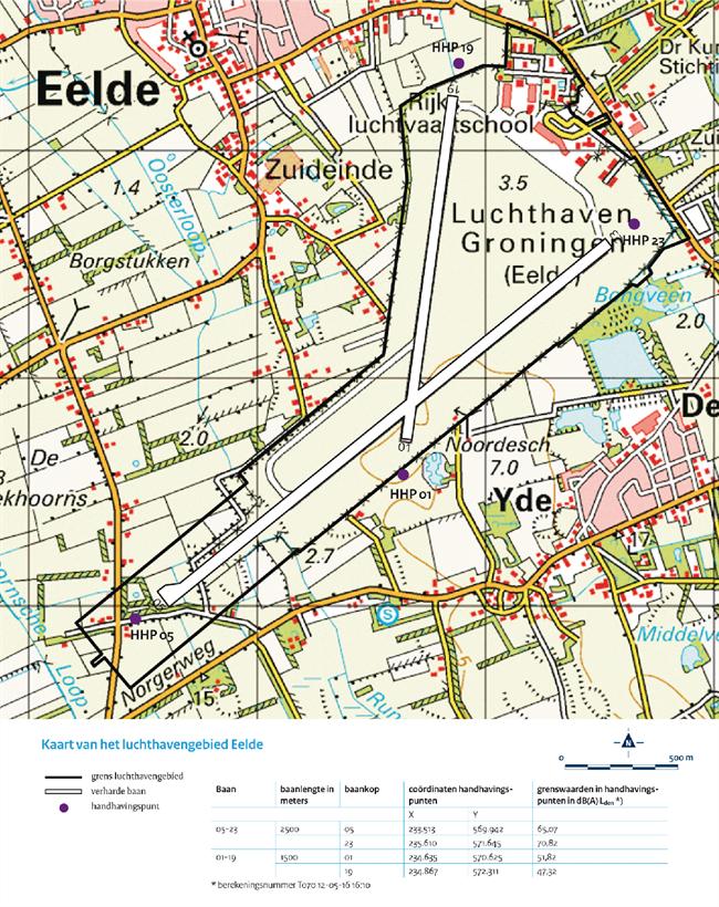 Luchthavengebied Groningen Airport Eelde