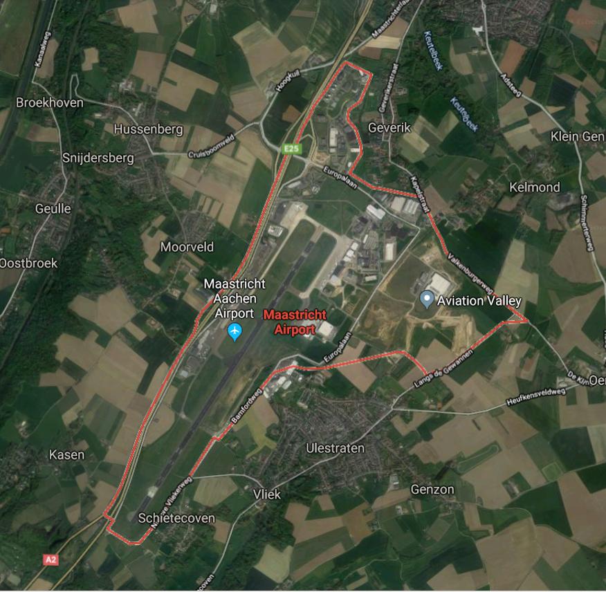 Luchthavengebied Maastricht Aachen Airport